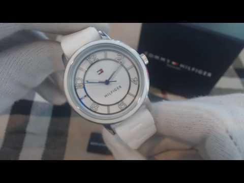 Women's Tommy Hilfiger White Silicone Watch 1781667