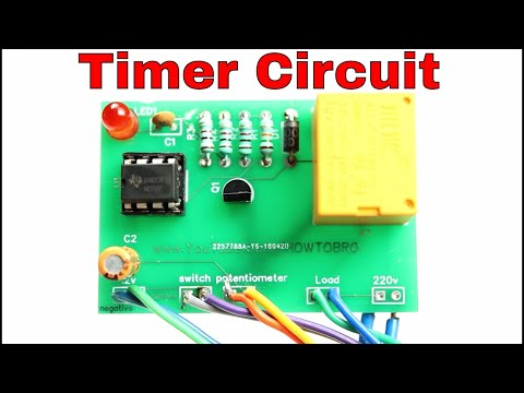 How to make a timer device for any electrical appliances ||pcb prototype