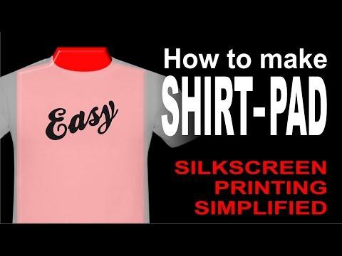 How to Make Shirt-Pad