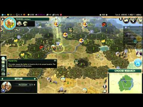 Civ 5 City Tile Yield: Benefits of Settling on Hills and Resources