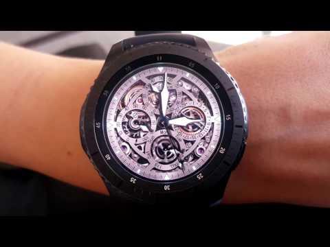 Gear O'Clock : Symmetric II - Watch face for Samsung Gear S3 and Gear S2