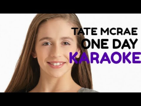 Tate McRae-One Day (Karaoke version) (Instrumental)