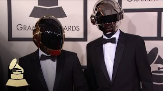 Download Daft Punk on the 56th GRAMMY Red Carpet Fashion Cam | GRAMMYs Video