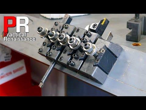 3D Printed Lathe Tool Organizer