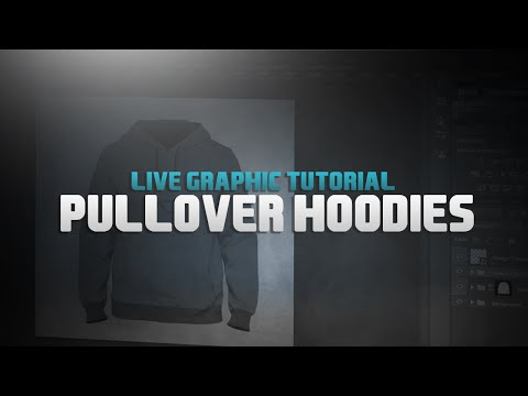 Pullover Hoodies l Design Tutorial #5 l Best Template Included!