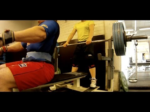 Shirt bench press 195kg