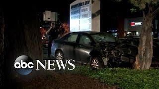 Car ramming attack in California