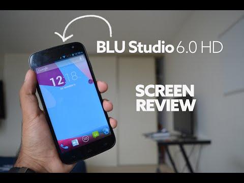 BLU Studio 6.0 HD - Screen Review