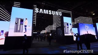 The 'Samsung City' Experience at CES 2018
