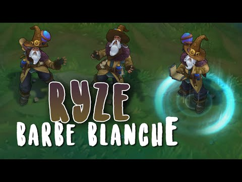 Ryze barbe blanche (Refonte) Aperçu Skin League of Legends