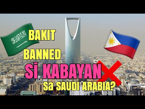 Xxx Mp4 REASON WHY OFW BANNED IN SAUDI ARABIA Pinay In Saudi 3gp Sex