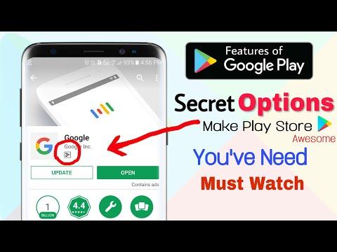Google Play Store- Hidden SETTING OPTION Most Secret FEATURES   MUST WATCH 😲