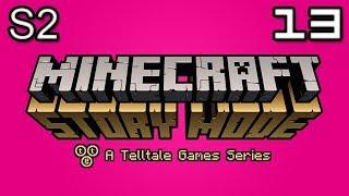 Minecraft Story Mode Let's Play: S2E4 Part 3 - UNFAIR DECISION