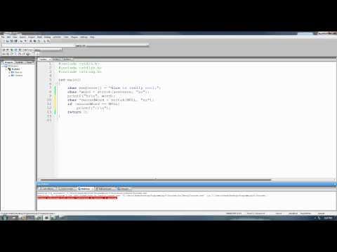 C Programming Tutorial 56, String Functions pt.7
