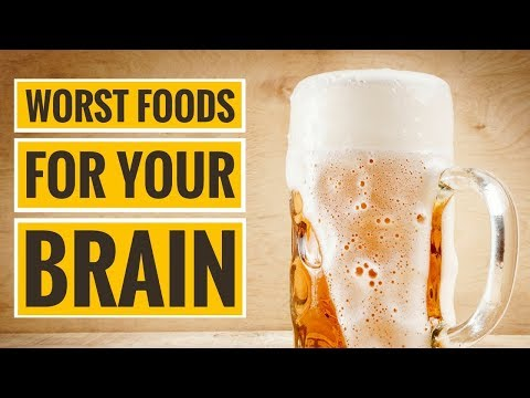 The 4 Worst Foods for Your Brain
