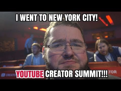 My Trip To New York City for the Youtube Creator Summit