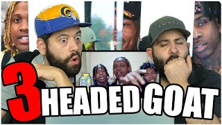 LIVING LIKE A BOSS!! Lil Durk - 3 Headed Goat ft. Lil Baby & Polo G *REACTION
