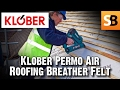 Klober Permo Air Breather Roofing Membrane