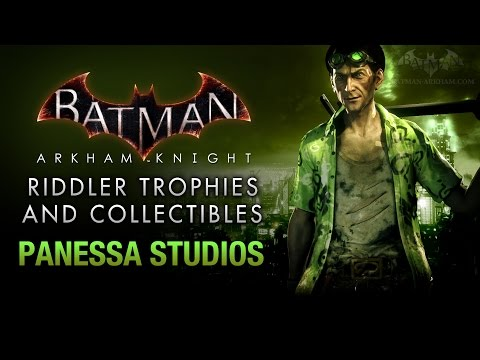 Batman: Arkham Knight - Riddler Trophies - Panessa Studios