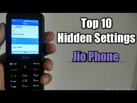 Jio phone : Top 10 Hidden Settings ✓