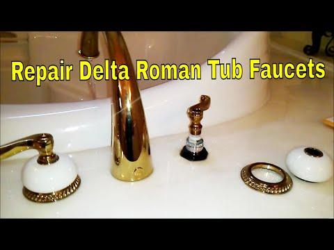 Repair Delta Roman Tub Faucets  👍👍👍