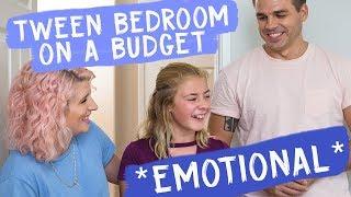 Tween Bedroom on a Budget *emotional*   Mr. Kate Decorates