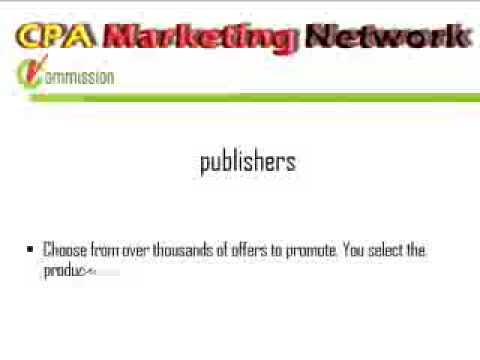 vCommission CPA Network optimized