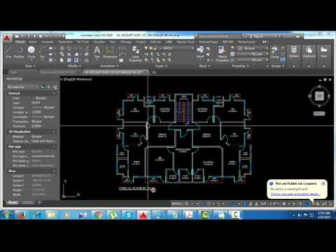 How to Scaling Millimeter File To Feet in Auto CAD