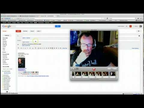 How To Send Free Video Emails On a Mac With Photobooth