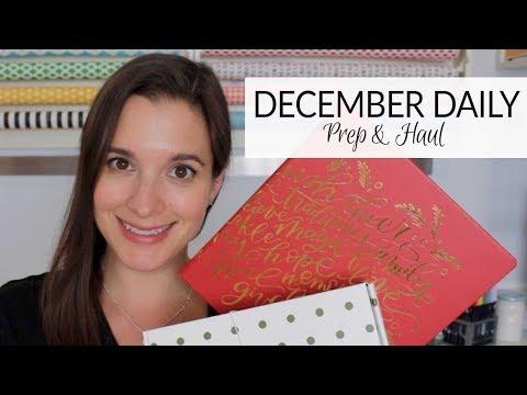 Memory Keeping | December Daily 2017 | Prep & Haul