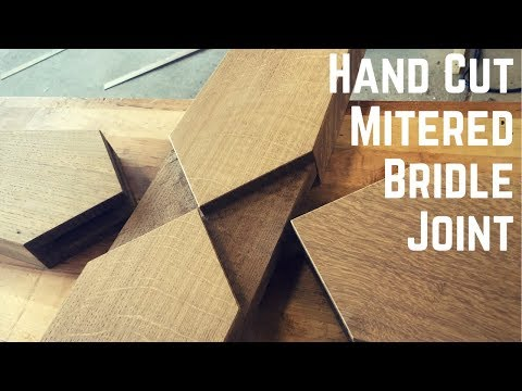 Make An LED Backlit Cross with Hand Cut Mitered Bridle Joinery | Woodworking | How To |