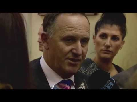 John Key on Christmas Island
