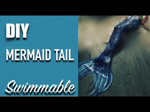 DIY Swimmable Mermaid Tail Tutorial - Silicone Mermaid Tail Tutorial