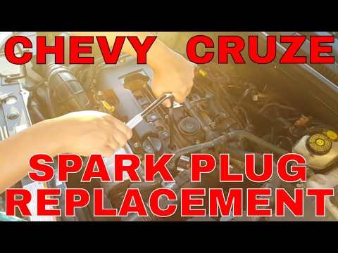 Chevy Cruze Spark Plug Replacement TUTORIAL