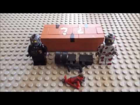 lego raygun thundergun mystery box and zombies