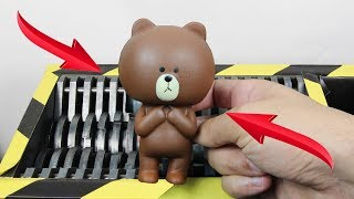 Download Experiment Shredding Squishy Teddy Bear | The Crusher Video