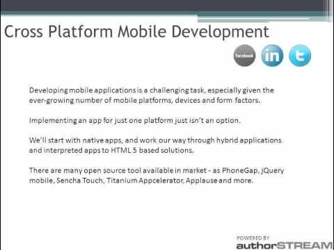 Html5 Development | Cross Platform Mobile Development | Html5 Developer - SoftProdigy