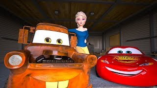 Elsa Unfreezes FROZEN Mater | Act of True Friendship | Cars Toys Movies Animated Short EPISODE 20