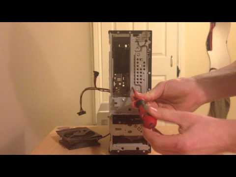 How To - Remove A Desktop Hard Drive
