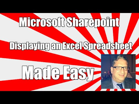 How to display an Excel spreadsheet in Sharepoint 2013 , Sharepoint 2010 SharePoint 2016 tutorial