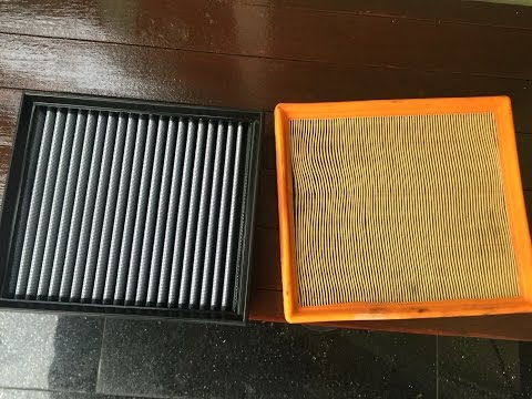 AFE Pro Dry S drop-in air filter revs