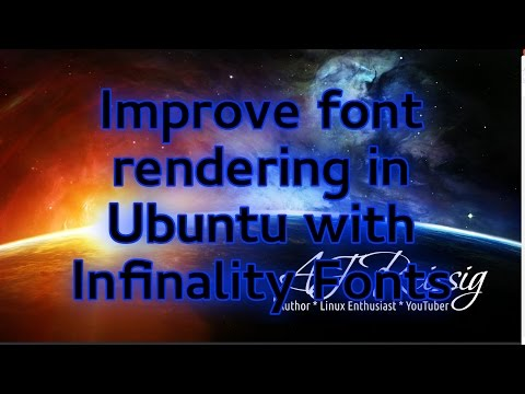 Improve font rendering in Ubuntu with Infinality Fonts