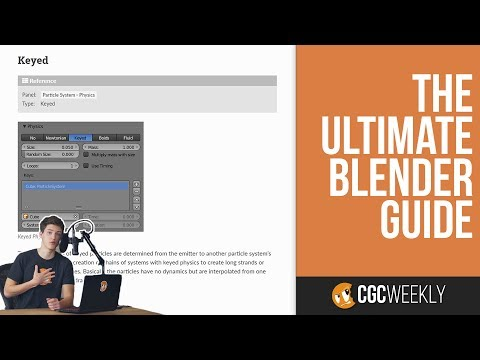 Documentation: The Ultimate Blender Guide - CGC Weekly #6