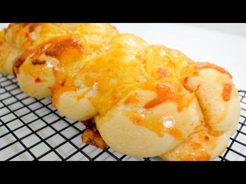 Cheesy Sweet Chili Plait Bread - Recipe Video