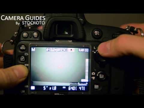 A nice way to set your White Balance WB on a Nikon D600