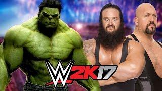 Hulk vs Braun Strowman and Big Show   HANDICAP MATCH!!