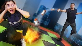 NERF Explosive Board Game!