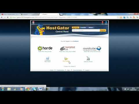 How to check your emails with Hostgator