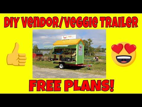 Vendor Trailer (FREE PLANS)