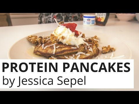 How to Make Healthy Protein Pancakes with Jessica Sepel